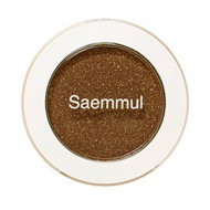 Тени для век мерцающие THE SAEM Saemmul Single Shadow Shimmer BR14 TMI Brown 2гр: фото