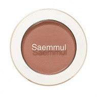 Тени для век матовые THE SAEM Saemmul Single Shadow matte BR17 Emotional Brown 1,6гр: фото