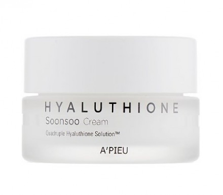 Крем глубокоувлажняющий A'PIEU Hyaluthione Soonsoo Cream 50мл: фото