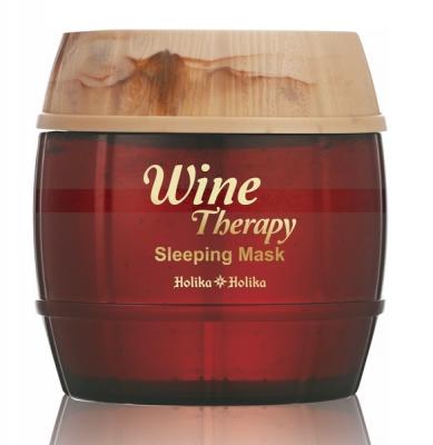 Маска для лица ночная с красным вином Holika Holika Wine Therapy Sleeping Mask Red Wine 120 мл: фото
