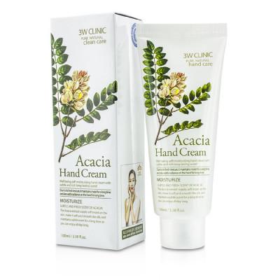 Крем для рук увлажняющий с экстрактом акации 3W CLINIC Moisturizing Acacia Hand Cream: фото