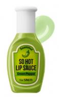 Горячий соус для губ THE SAEM Saemmul So Hot Lip Sauce 01 Green Pepper 9,5г: фото