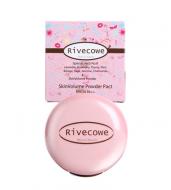 Пудра для лица RIVECOWE Beyond Beauty SkinVolume Twoway Cake SPF30 РА++ №21 натуральный беж 12г: фото