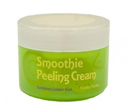 Крем отшелушивающий с киви Holika Holika Smoothie Peeling Cream Sunshine Golden Kiwi 75 мл: фото
