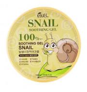 Гель успокаивающий с улиточным муцином 100% Ekel Soothing Gel Snail 300 г: фото