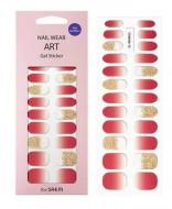 Наклейки для ногтей THE SAEM Nail Wear Art Gel Sticker 02 Cherry Ade: фото