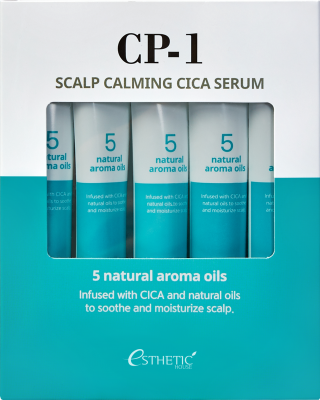 Cыворотка для кожи головы УСПОКАИВАЮЩАЯ ESTHETIC HOUSE CP-1 Scalp Calming Cica Serum 20мл*5шт: фото