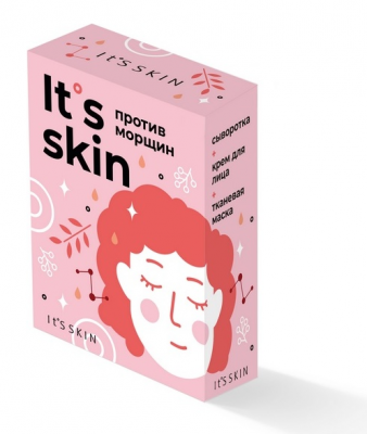 "Набор ухода за кожей It's Skin ""Против морщин"" 30 мл + 50 мл + 20 г: фото"