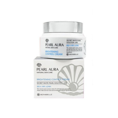 Крем для лица ЖЕМЧУГ ENOUGH BONIBELLE Pearl Aura Brightening Control Cream 80 мл: фото