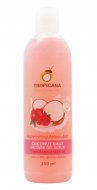 Гель-скраб для душа КОКОС/ МАСЛО ГРАНАТОВЫХ КОСТОЧЕК TROPICANA Coconut Daily Shower Gel Scrub Pomegranate seed oil 350мл: фото